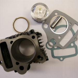 Silindrikomplekt mop/ATV 60cc (43mm/13mm)
