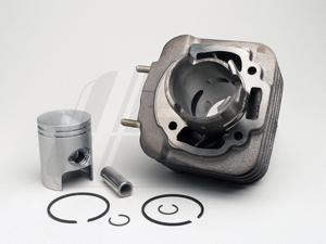 Silindrikomplekt 70cc Piaggio (47mm/12mm)