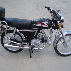 mopeed alpha 50cc 4käiku must