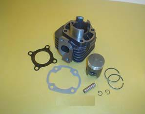 Silindrikomplekt 60cc CPI ja Keeway (43mm/12mm)