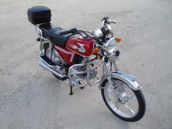 mopeed alpha 50cc 4käiku punane