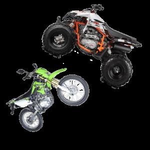 ATV, KROSSIKA 200-250CC VARUOSAD